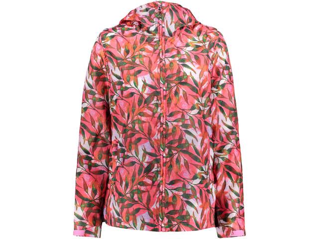 Meru Clyde Jacket Women tropical leaves